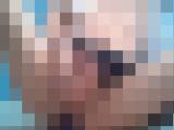アメスクコス女装男の娘の自撮りディルドアナルオナニー動画