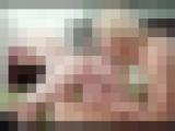 【雌犬調教】Eカップ美巨尻スレンダー若妻24歳自宅の庭でケツ見せ散歩調教哀願3P生ハメ中出し