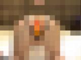 【無修正】現役パイパン看護師を穴開き下着目隠しアナル調教