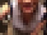 【個人撮影】八重歯のグラマラス美人のトイレで手コキ・フェラをスマホ撮影